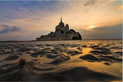 Shell à le Mont Saint-Michel photo stock