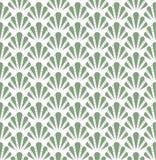 Shell Art Deco Pattern sans couture Fond antique élégant illustration libre de droits