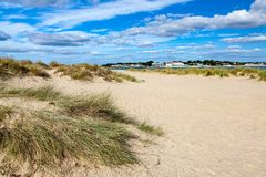 Shell Bay Dorset England image stock