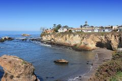 Shell Beach, California Immagine Stock