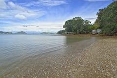 Shell beach, Coromandel Peninsula Royalty Free Stock Photo