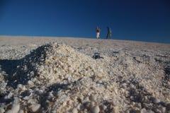 Shell Beach, Haifisch-Bucht, West-Australien lizenzfreies stockbild