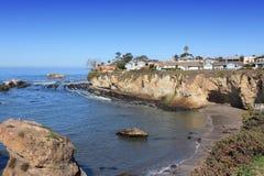 Shell Beach, Kalifornien Stockbild