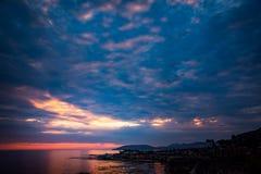 Shell Beach Sunset photos stock