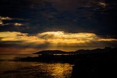 Shell Beach Sunset Royalty Free Stock Photo