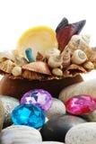 Shell & beads Stock Photo