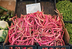 Free Shell Beans In A Market. Royalty Free Stock Photos - 57279278