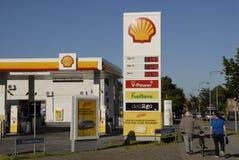 SHELL benzyna Zdjęcie Stock