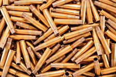 Shell casings Royalty Free Stock Photo
