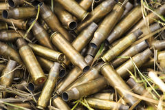 Shell casings Royalty Free Stock Photos