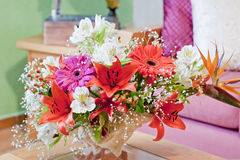 Shell Centerpiece floral fotografia de stock