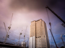 Shell centre building Royalty Free Stock Photos