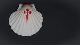 Shell com cruz Foto de Stock