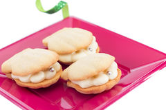 Shell Cookies Stock Photography