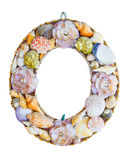 Shell and coral frame Stock Image