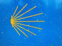 Shell crantent le symbole de la manière de St James photos stock