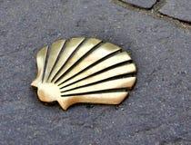 Shell de la manière de St James photographie stock