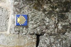 Shell de San Jaime Imágenes de archivo libres de regalías