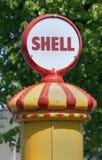 Shell dieselpump royalty free stock photo
