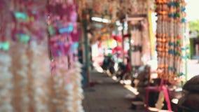 Shell font des emplettes dans Cilacap, Java, Indonésie clips vidéos