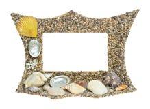 Shell frame Stock Photos