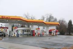 Shell Gas Station photographie stock libre de droits