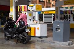 Shell Gas Station Stockbilder