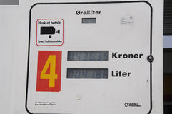 Shell Gas Station Royaltyfria Bilder