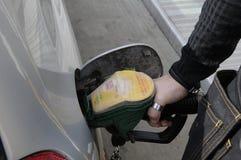 Shell Gas Station Arkivbild
