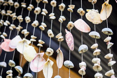 Shell Hanging Mobile Stockbilder