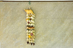 Shell hanging mobile Royalty Free Stock Photography