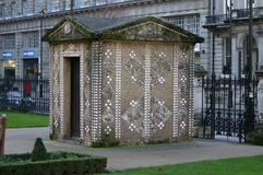 Shell hut in Grosvenor Gardens Stock Photography