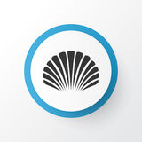 Shell Icon Symbol. Premium Quality Isolated Conch Element In Trendy Style. Royalty Free Stock Image