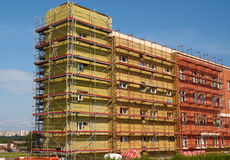 Shell insulation in new residential building stock photo