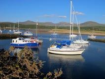 Shell Island, Gwynedd, Gales Fotos de Stock Royalty Free