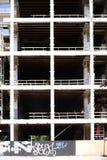 Shell konstruktion med delningar och balkväggar royaltyfri bild