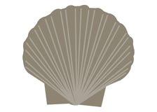 Shell kreskówki morska denna wektorowa ilustracja Zdjęcie Stock