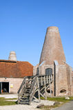 The shell lime kilns of Hasselt Royalty Free Stock Image
