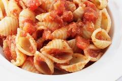 Shell macaroni Royalty-vrije Stock Foto's