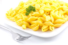 Shell Macaroni and Cheese Royalty Free Stock Photos