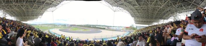 Shell Malaysia Motorcycle Grandprix 2016 Lizenzfreie Stockbilder