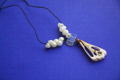 Shell necklace Stock Photography