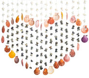 Shell nel cuore immagini stock