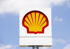 Shell Oil Fotografia Stock Libera da Diritti