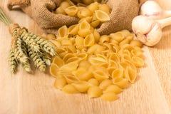 Shell pasta Stock Photography