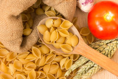 Shell pasta Stock Images