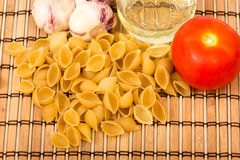 Shell pasta Royalty Free Stock Images