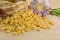 Shell pasta Royalty Free Stock Image