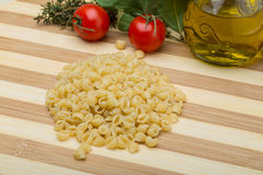 Shell pasta Royalty Free Stock Photography