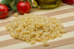 Shell pasta Royalty Free Stock Photo